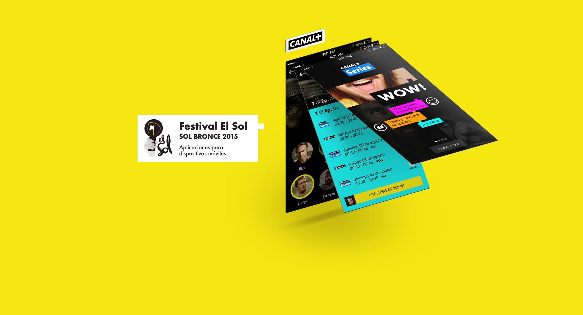 Canal+ App Series